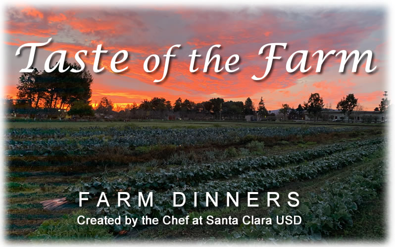 Farm Image with text saying Taste of the Farm